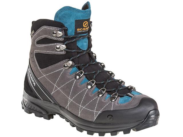 Scarpa R-Evo(Lution) GTX Shoes Men titanium-lake blue